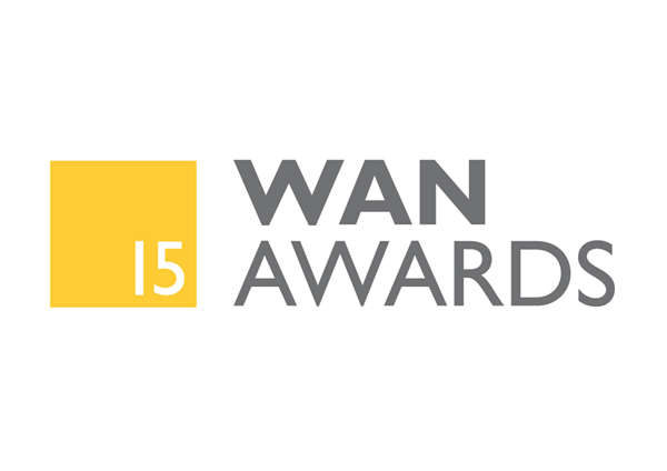 logo of the WAN awards 2015
